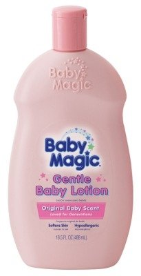 Baby Magic Baby Lotion Gentle 16.5 Ounce Baby Scent (488ml) (2 ()