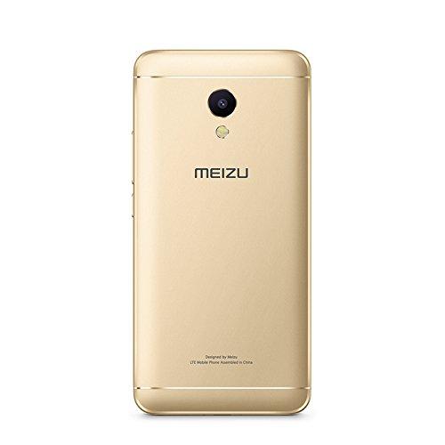 MEIZU M5S Unlocked Smart Cellphone MTK6753 Octa Core 3GB 32GB 5.2'' HD IPS Fingerprint Fast Charging Mobile Global Version (Gold)