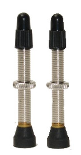 (Stans-No Tubes 44mm Presta Universal Valve Stem (Carded Pair for Road))