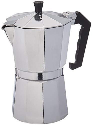 cafetera de espresso de aluminio para 9 tazas