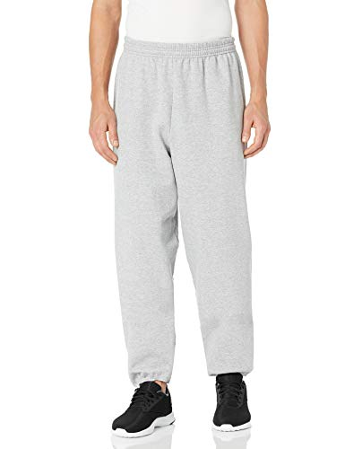 Hanes Men's EcoSmart Fleece Sweatpant, Light Steel, M