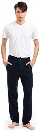 Men's Lounge Pants - 100% Cashmere - Citizen Cashmere (Navy XL) (72 701-03-04)