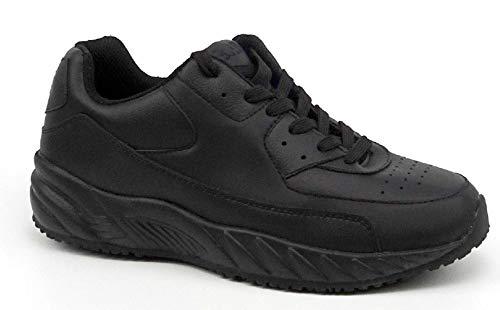 Apis Mt. Emey 3403 Women's Comfort Utility Shoes: Black 8 Medium (B) Lace