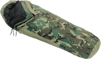 US Military 4-PC Weather Resistant Modular Sleep System with Waterproof Gore-Tex Cover by Tennier Industries Inc.