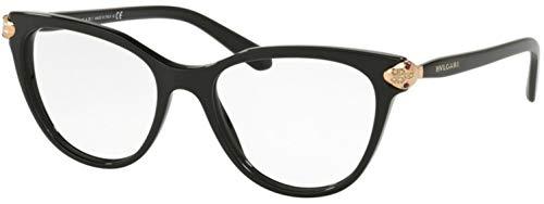 Bvlgari Women's BV4156B Eyeglasses Black 54mm