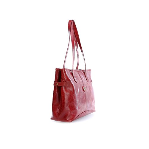 37 Story cm The Bridge Fourre tout rot cuir rot Donna Sac à main 5zqwqgR
