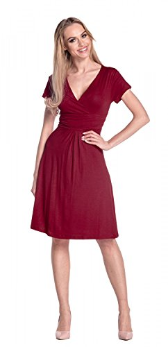Red Empire Glamour Flattering Rosso Dress Abito donna 108 da pAwOAq