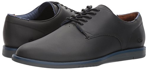 ca6673b99d99 Lacoste Laccord 417 1 Oxford Black Black 11.5 D(M) US  Buy Online at Low  Prices in India - Amazon.in