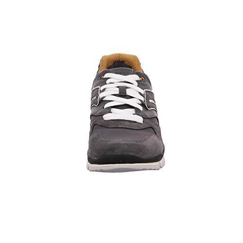 Sandford a U C9353 Geox Zapatillas Anthracite para Hombre Yellow Gris TSf5gR