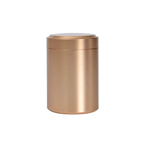 Other Kitchen Specialty Tools - Portable Mini Tea Can Aluminum Herb Stash Jar Seal Smell Proof Container Spice Organizer Storage Pot - Bottle Jar Other Costume Stash Outdoor Storage Tibetan