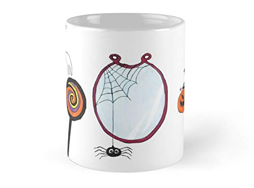Trick Or Treat Inktober Halloween V.1 Mug - 11oz Mug - Best gift for family friends -