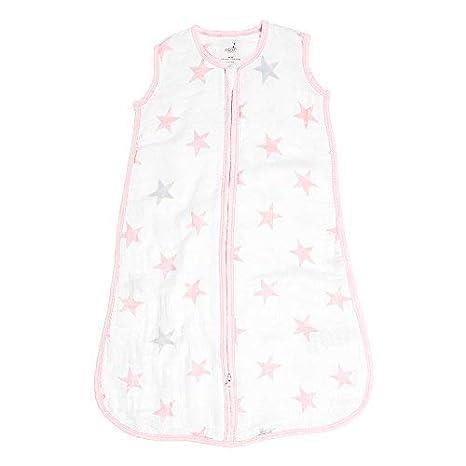 anais Baby Sleeping Bag Wearable Swaddle Blanket for Girls /& Boys Medium TOG Rating 1.0 aden Newborn Sleep Sack Breathable /& Lightweight 100/% Cotton Muslin Mon Fleur 6-12 Months