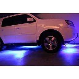 LED Under Car Glow Underbody System Neon Lights Kit 48\
