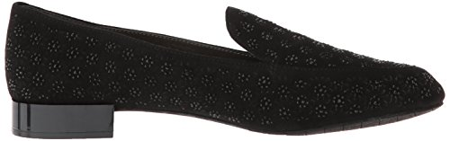 Black Jet Metallic Slip Cole Time Kenneth Heel Loafer Women's Flat Reaction FHqwnwxaT