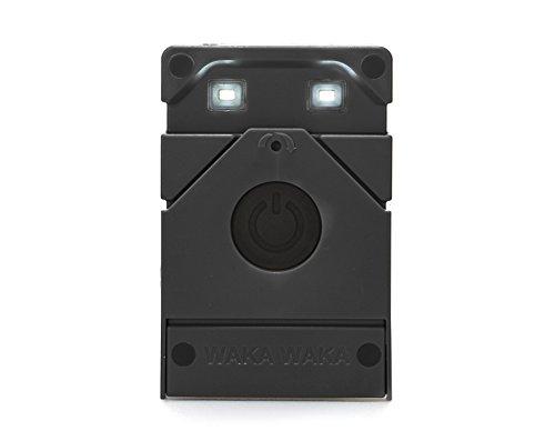 WakaWaka Light Solar-Powered LED Flashlight, Black by WakaWaka