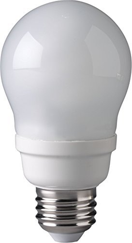Shaped Cfl (Eiko SP9A19/27K 9W 120V A19 Shaped Spiral Medium Screw Base CFL Bulb by Eiko)