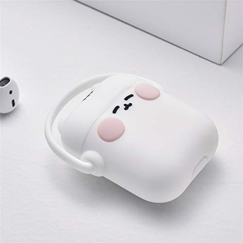Skin Slicone - Sodoop for Airpods Case,Airpods Accessories,Airpods Skin,Cute Cartoon Animal Slicone Girls Kids Protective Cover Case Compatible for Airpods 1 & 2 Charging Case