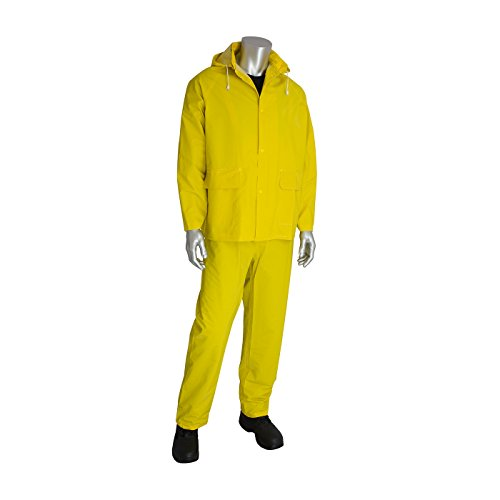 Falcon 201-350X3 Premium 3 Piece Rain Suit (Piece 3 Rainsuit Industrial)