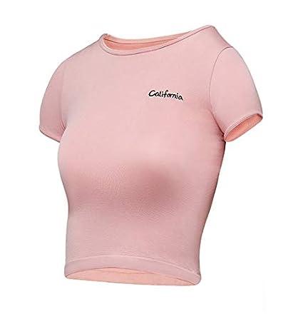 HWTP Camisa de Golf - Camiseta de Yoga con Letras ...