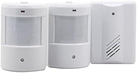 それはあなたにとって完璧な選択です 1つから2つのPIRの赤外線センサーの家/オフィスのための無線ドアベル警報探知機