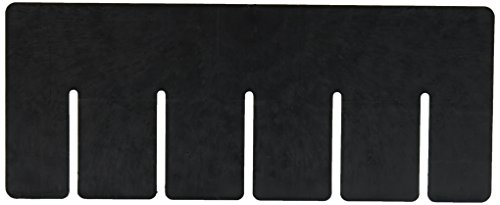 Quantum Storage Systems DS91035CO Short Divider for Dividable Grid Container DG91035, Black Conductive, 6-Pack ()