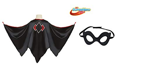 "Harley Quinn "" Cape Costume + Mask Set -"