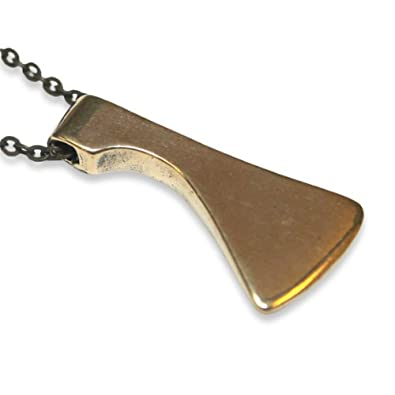 wildwood grande supply brass co pendant necklace products maritime axe solid