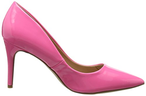 Pink WoMen 76 Bright Pink Closed Look Knocked Heels Toe New 7vqYf5xw
