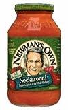 Newman`s Own Sockarooni Pasta Sauce (12x24 OZ)