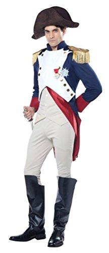 California Costumes Men's Napoleon French Emperor Costume, Multi, (Napoleon Costume)
