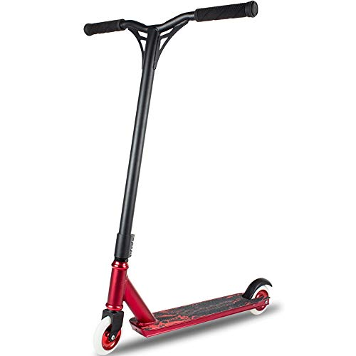 FDSjd Scooter Aluminum Core Wheel Two Round High Elastic TPE Environmental Protection 35 ° Soft Non-Slip Handle (Color : Red) by FDSjd (Image #3)