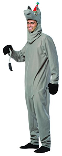 Rasta Imposta Men's Pin The Tail On The Donkey, Gray, One Size