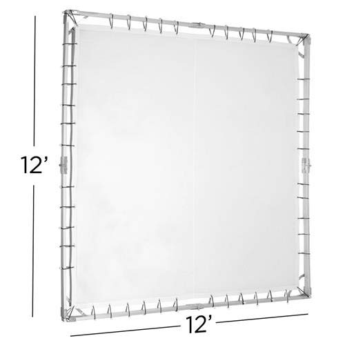 Glow 12x12' Portable Butterfly Light Modifier Collapsible Kit