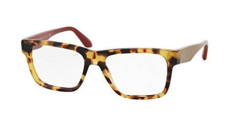Prada Voice Eyeglasses PR16RV 7S01O1 Light Havana 53 16 140 (Prada Voice)