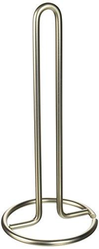 Spectrum 41078 Diversifies Designs Paper Towel Holder, 2 Ounce, 1 count, Satin Nickel