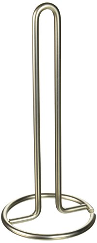 "SPECTRUM DIVERSIFIED DESIGNS 41078 12-1/2""H x 5 1/2""D Paper Towel Holder, Satin Nickel"