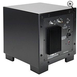 MartinLogan Dynamo 1000W 12-inch Wireless Ready Subwoofer (Single, Black)