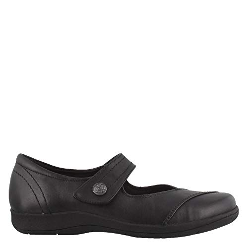 Rockport Women's Tessie MJ Mary Jane Flat, Black, 9.5 W US