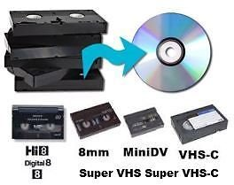 Amazon.com: Video Tape Transfer Service (VHS-C to DVD): MP3 Players