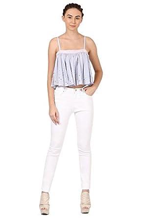 Pankaj and Nidhi Women's Plain Regular Fit Cotton Shirt