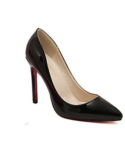 Nvxie Club Mujeres 45 Sandalias De Black Nocturno Altos Moda Tacones Casual Mujer 35 Zapatos rFnIpxr