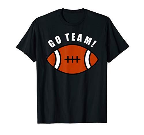 Football shirt for women funny go team sports generic tee