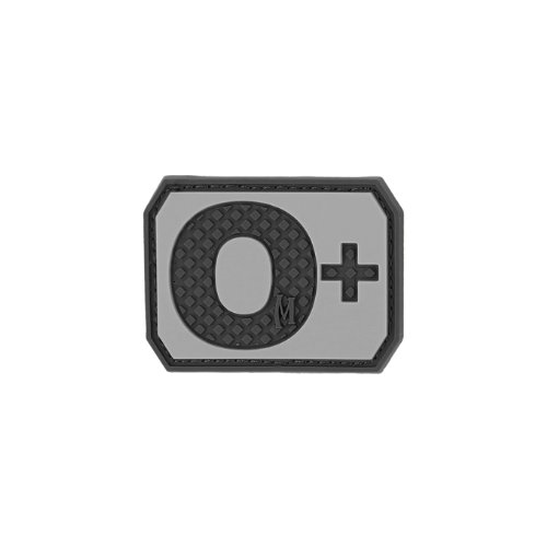 Maxpedition Gear O Positive Blood Type Patch, Swat, 1.5 x 1.1-Inch ()