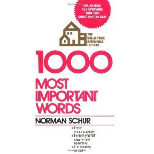 1000 most important words - 5