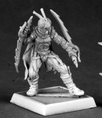 Reaper Miniatures 60049 Pathfinder Series Red Mantis Assassin Miniature