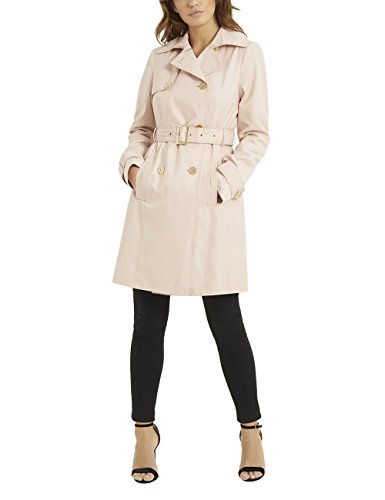 LIPSY Womens Belted Trench Coat Pink US 12 (UK 16)