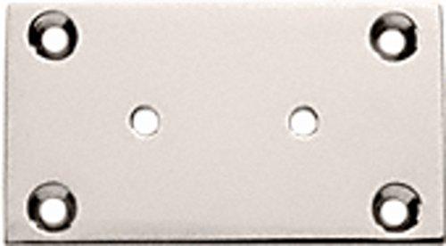 C.R. LAURENCE G3PN CRL Polished Nickel Geneva 037/337/537 Series Wall Mount Back Plate