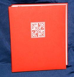 Large red fleur di lis greeting card album scrapbook amazon large red fleur di lis greeting card album scrapbook m4hsunfo