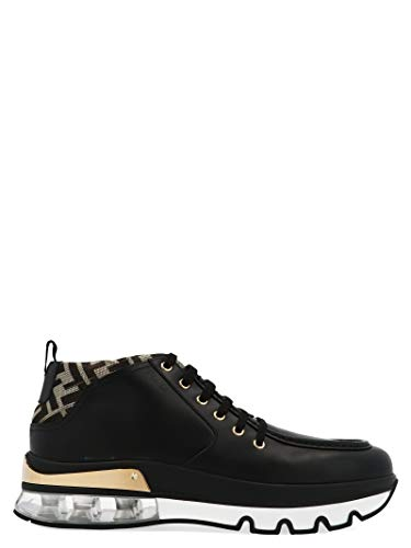 FENDI Luxury Fashion Mens 7L1269A8PIF183I Black Sneakers | Fall Winter 19