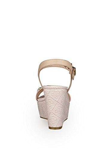 Guess - Sandalias de vestir para mujer Rosa